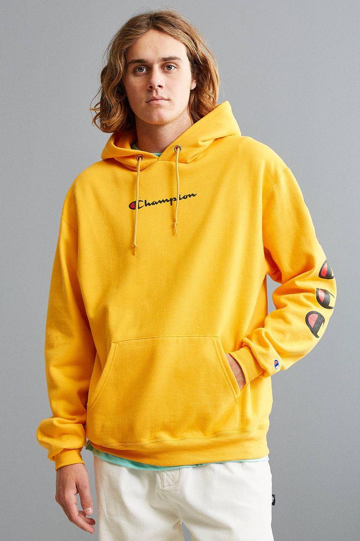 Slide View: 1: Champion Repeat Eco Hoodie Sweatshirt