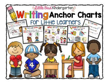 """Writing Anchor Charts for Little Learners with Text Types and purposes, """"These are amazing!"""""""