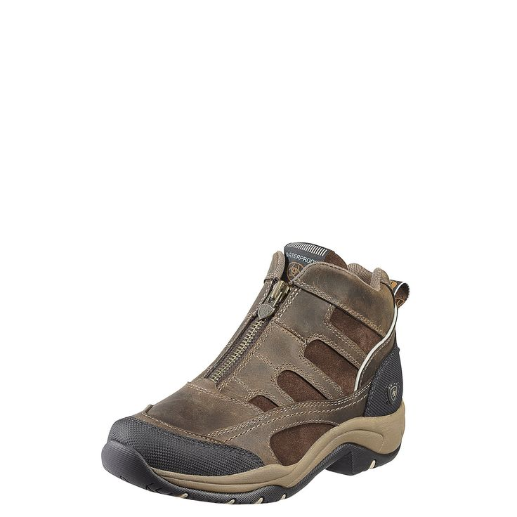 Ariat womens terrain zip h2o hiking boot distressed