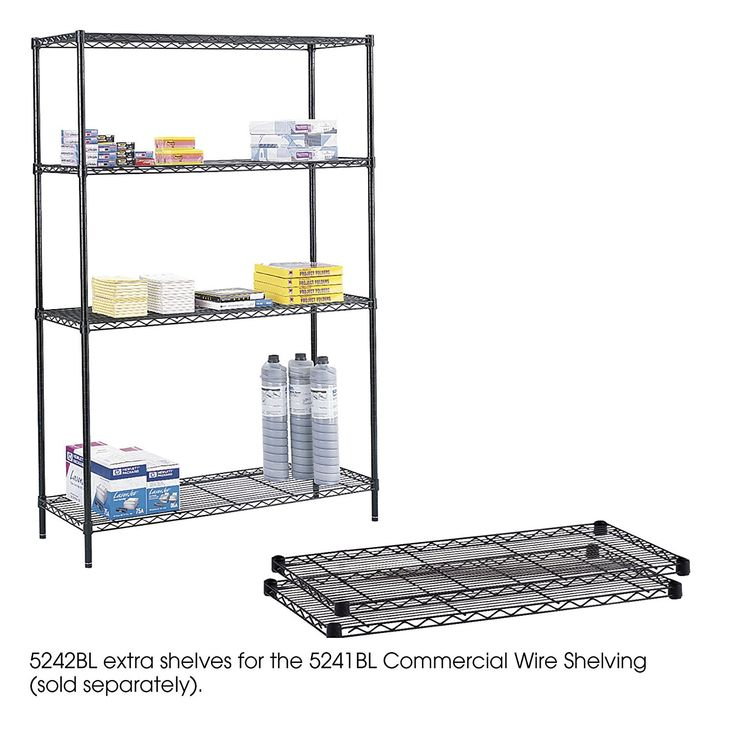 Interior: Wire Shelving Units To Maximize Space And Organize Small Objects — hmgnashville.com