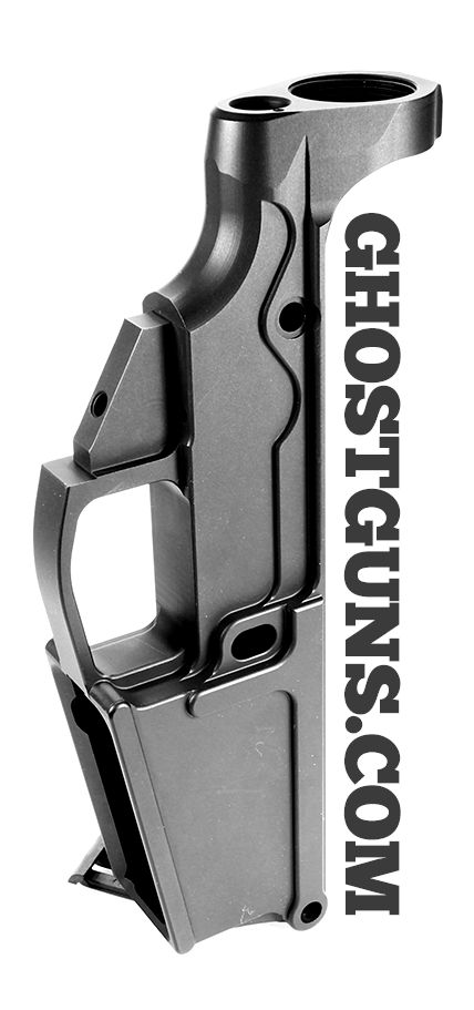 Ghost Guns Billet DPMS 308 80% Percent Lower Receiver Anodized Type III