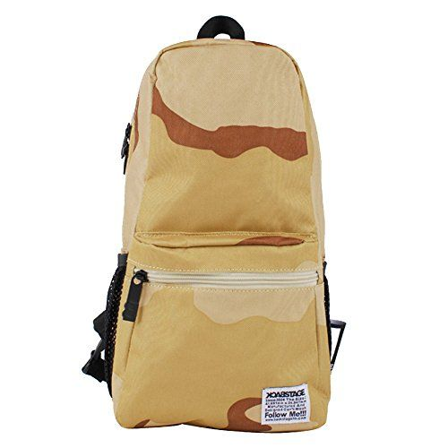 New Trending Backpacks: Shoulder Backpack, Kuoser Casual Crossbody Bag Sling Bag Chest Pack with Adjustable Strap Outgoings,Camouflage Yellow. Shoulder Backpack, Kuoser Casual Crossbody Bag Sling Bag Chest Pack with Adjustable Strap Outgoings,Camouflage Yellow   Special Offer: $10.87      444 Reviews The External : one zipper bag to store your phone or purser, two mesh bags are perfect to store small items Inside: One main bag,...