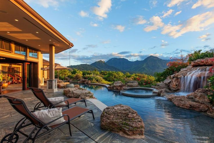 Wonderful Pool Finish Ideas For You To Copy: Best 25+ Hawaiian Homes Ideas On Pinterest