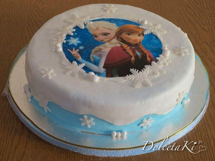 torta frozen con girasoli 2 d - Cerca con Google