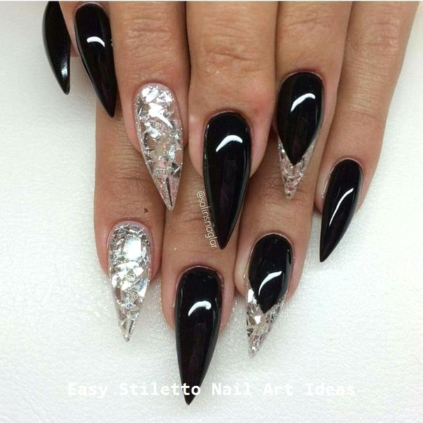 30 Ideen für großartige Stiletto-Nageldesigns #nail #stilettonails – Nail ideas