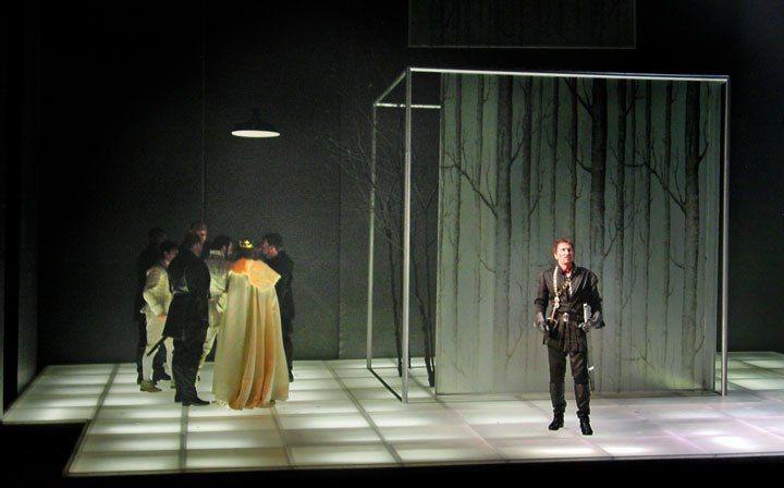 Macbeth. Shakespeare Theatre Company. Scenic design by John Coyne.