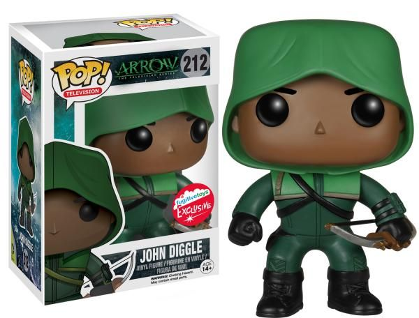 <script><!--dynamicgoogletags.update();//--></script><p>Today during the first round of exclusives announced on the SDCC website, we got our first look at three of the Fugitive Toys Funko exclusives…. White Lantern Wonder Woman, Glow in the Dark White Lantern Wonder Woman, and Arrow's John Diggle. All three will be available in limited quantities at …</p>