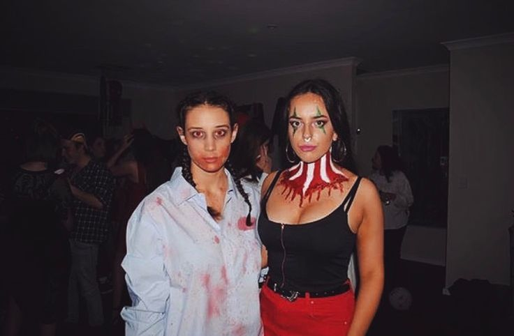 Halloween makeup by Ashleigh Hunter