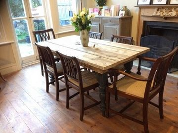 Used Scaffold Dinning Table