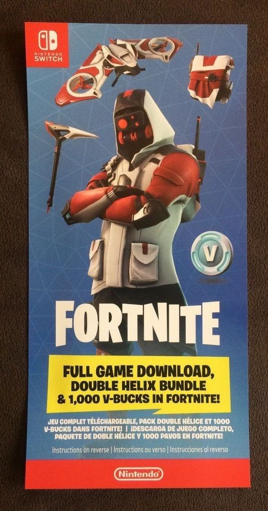 Fortnite Double Helix Bundle Code Only North American Region