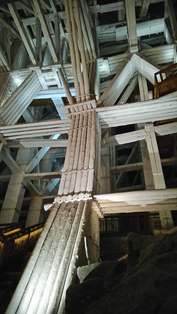 Wieliczka Salt Mine - under the ground