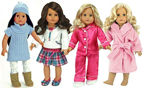 Complete Winter Wardrobe for 18 Inch Dolls by Sophia's | ... https://www.amazon.com/dp/B01KVRCN0Q/ref=cm_sw_r_pi_dp_x_.07aybYYHPX5D