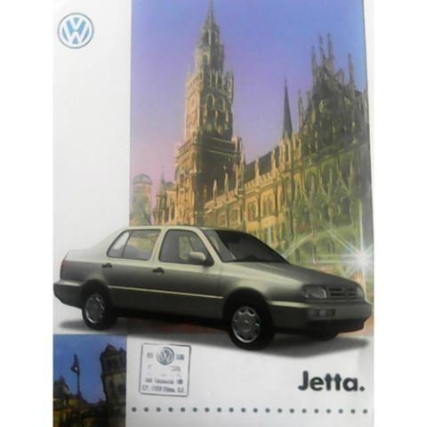 VW Jetta 1995. Catálogo publicitario original