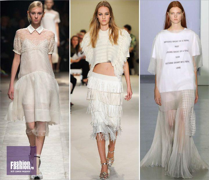 Светлый образ: как носить белый цвет