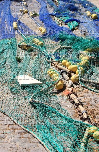 Bunch of fishing net