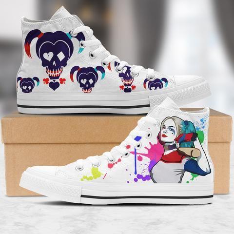 Harley Quinn Premium Sneakers