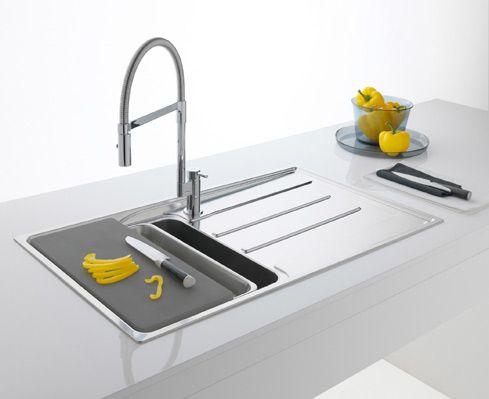 52 best Keukens - spoelbakken images on Pinterest | Bathroom sinks ...