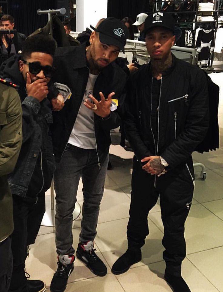 O, Chris and Tyga