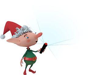 Follow Santa Claus as he makes his magical journey around the world!  noradsanta.org