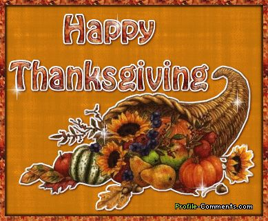 Happy Thanksgiving Graphics   Happy Thanksgiving!   Chic Steals
