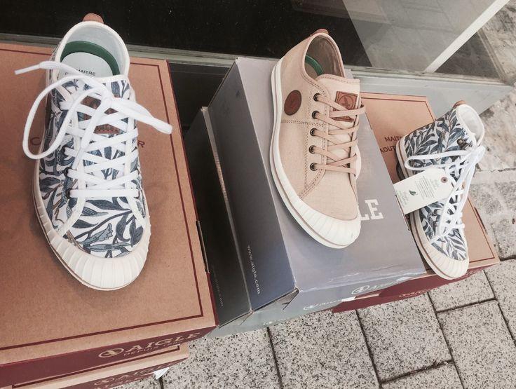 Lässige AIGLE Schuhe bei Grace Austria in Pörtschach. Kommt vorbei und sichert Euch ein paar coole Stücke.  Bis bald Doris Pock und Team