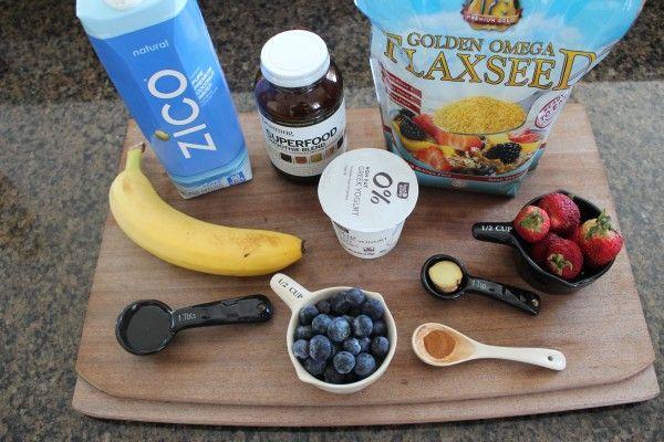 Metabolism Boosting Smoothie Ingredients