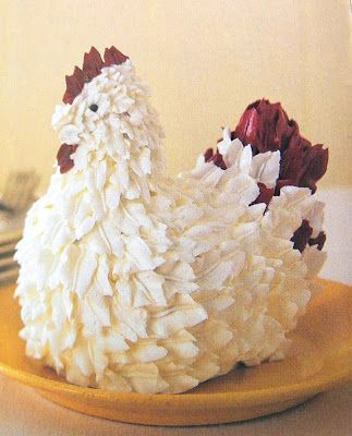 Good Things by David: Martha by Mail ~ Chicken Cake Mold