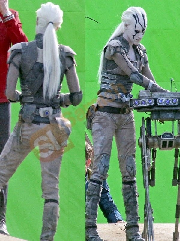 Jaylah front and back view, Star Trek: Beyond