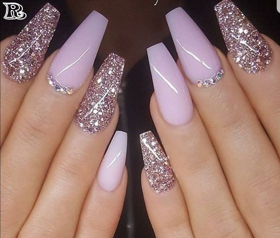 acrylic nails design and ideas