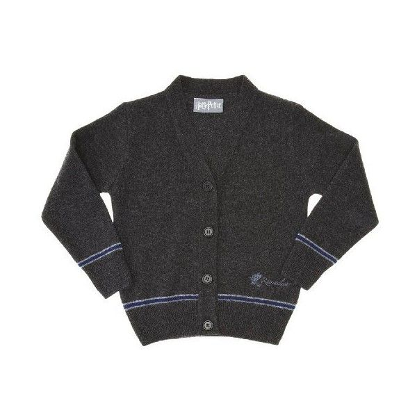 Hogwarts Ravenclaw Girls Cardigan:Amazon.co.uk:Clothing (545 ARS) ❤ liked on Polyvore featuring harry potter, cardigans, harry potter uniform and hp