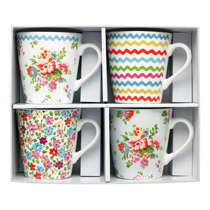 Assorted Set of 4 Mini Stanley Mugs | Cath Kidston
