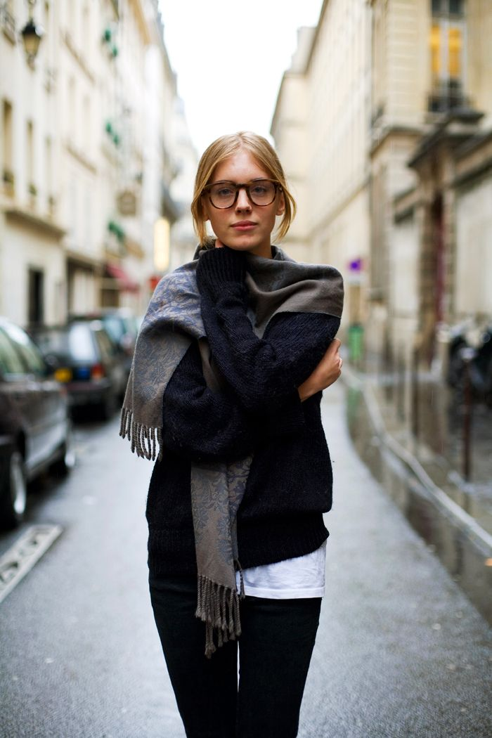 glasses: Street Fashion, Chic Outfits, Fall Style, Casual Fall, Street Style, Geek Chic Glasses, Fall Looks, The Sartorialist, French Style