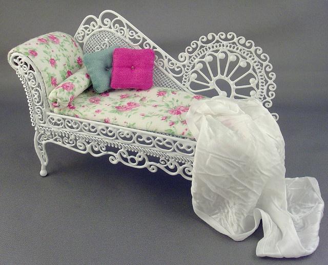 Dollhouse Miniature Sectional Sofa Crushed Velvet Corner Chesterfield Best 25+ Wicker Patio Furniture Ideas On Pinterest ...