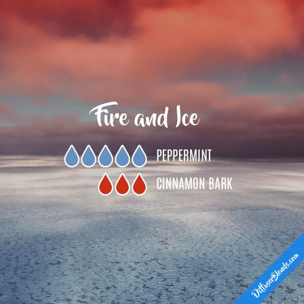 Fire and Ice - Essential Oil Diffuser Blend