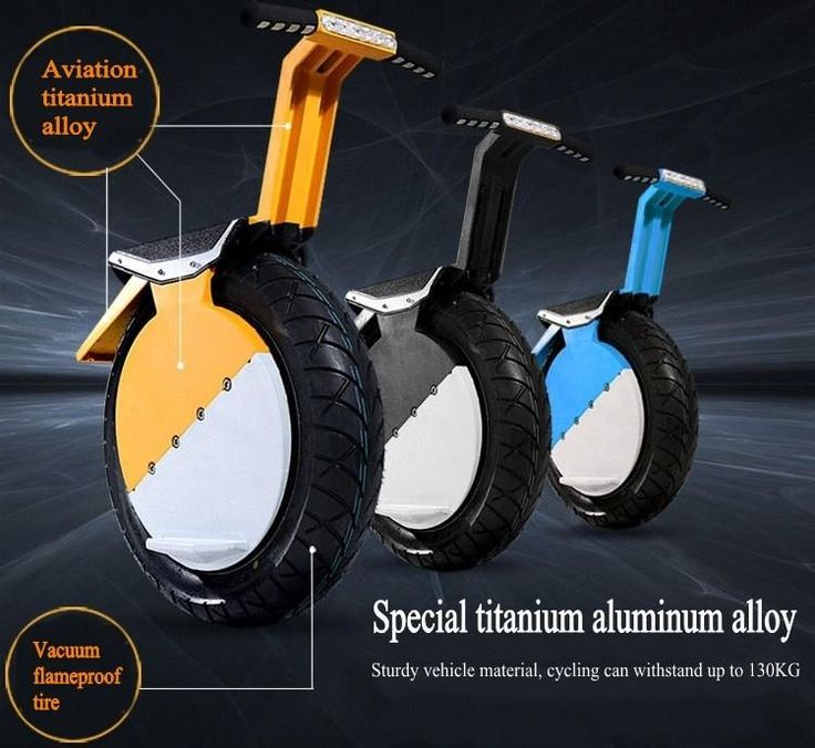 One Wheel Self Balancing Unicycle Electric Scooter