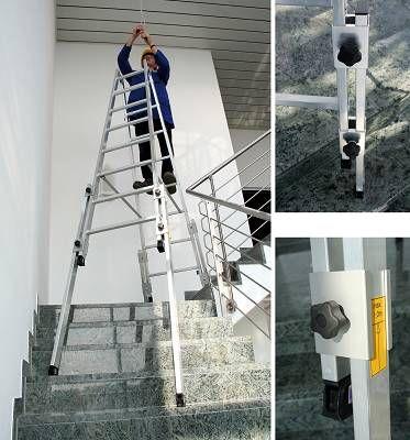 1000 ideas sobre escalera tijera en pinterest estante for Escaleras 5 tramos