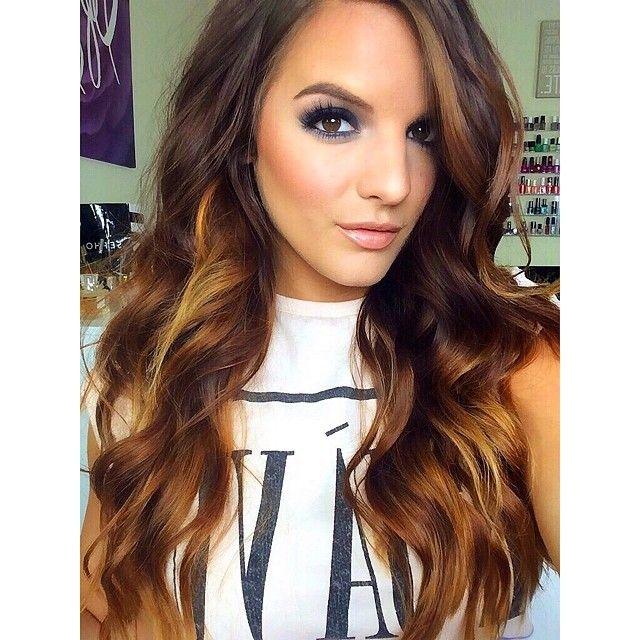 Casey Holmes Flawless Makeup As Always Love Her Wavy