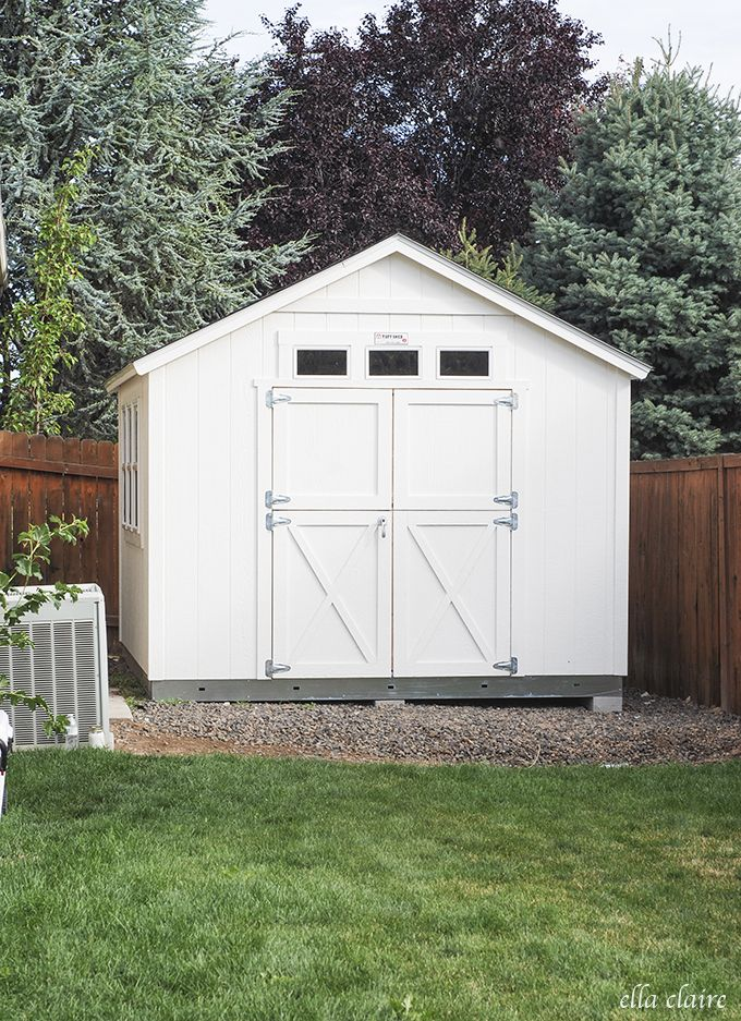 Garden Sheds Installed 132 best backyard ideas images on pinterest | backyard ideas