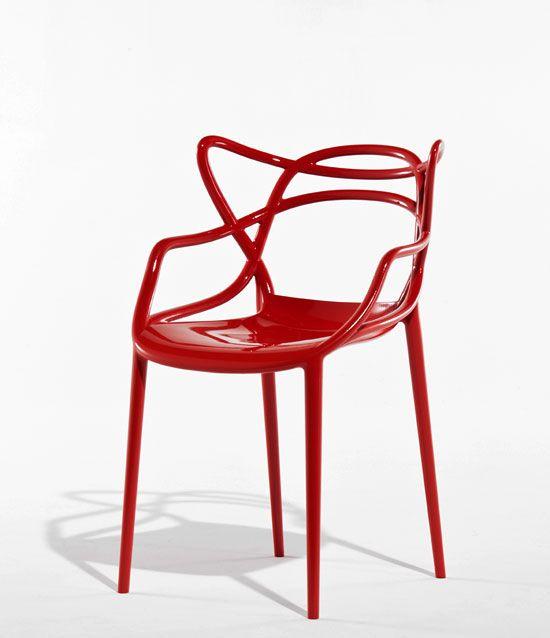philippe starck 'masters' chair combines 3 masterpieces (eames, jacobsen, saarinen)