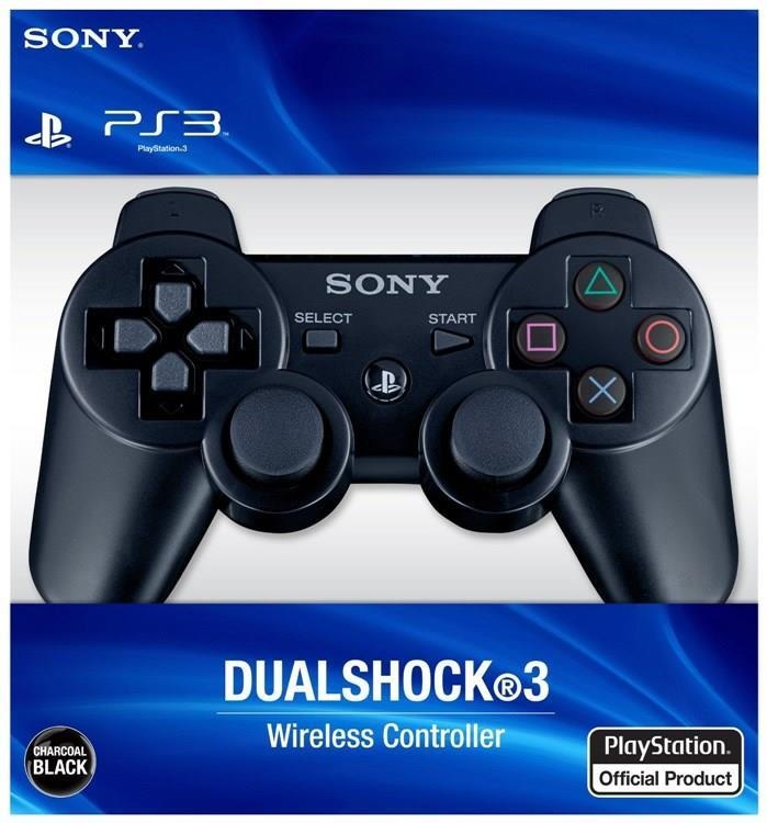 Official Sony Black Dualshock 3 Playstation 3 Wireless Controller