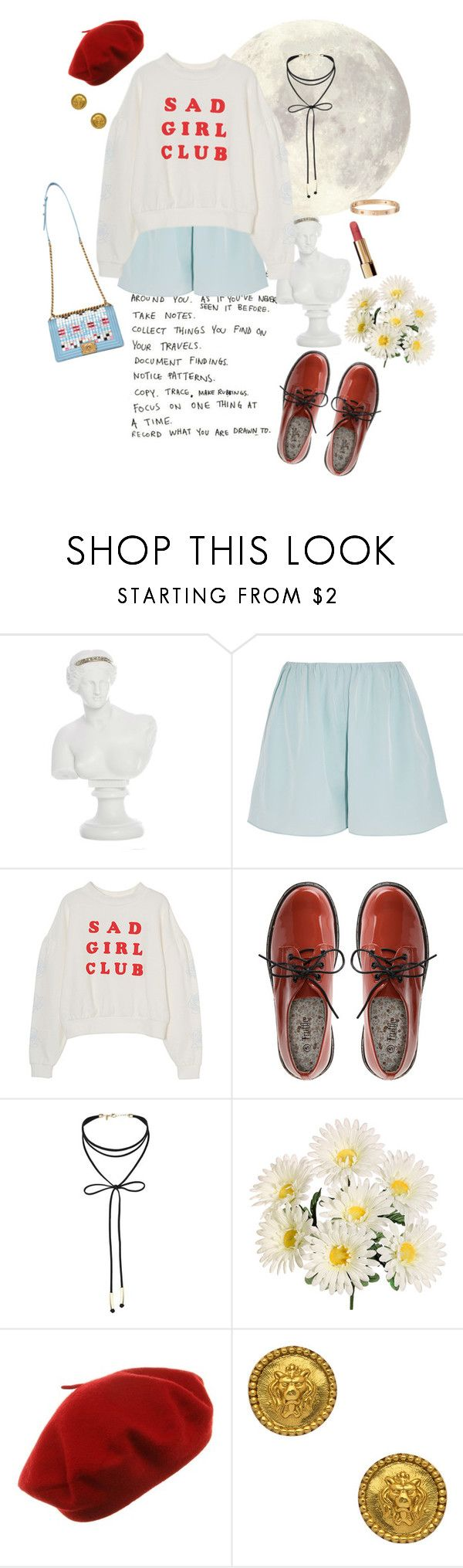 """""""Sin título #837"""" by gabriellasan ❤ liked on Polyvore featuring Elizabeth and James, Miss Selfridge, Chanel, Julie Vos and Cartier"""