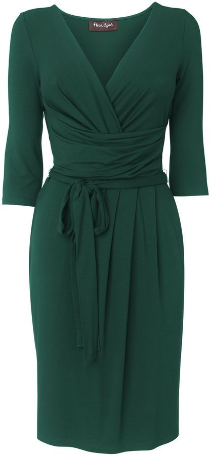 House of Fraser Phase Eight Fixed wrap dress on shopstyle.com
