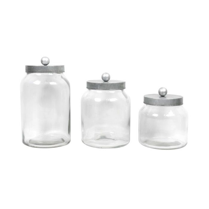 3 Piece Kitchen Canister Set Kitchen Canisters Ceramic Kitchen Canisters Decorative Containers