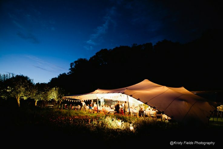 18m x 15m Is great for wedding receptions, this tent is large enough to accommodate 150 guests, a dance floor and bar.