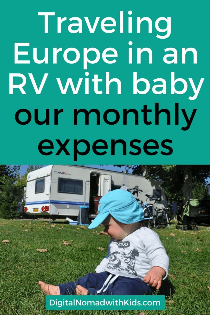 Curious about what traveling Europe with RV and baby costs? Read about our average monthly expenses of our RV trip through Europe.