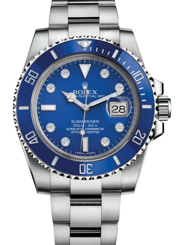 Rolex 116619LB Submariner Date White Gold. #rolex
