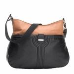 Storksak Nina Diaper Bag - Tan/Black   Designer Diaper Bags available at www.duematernity.com