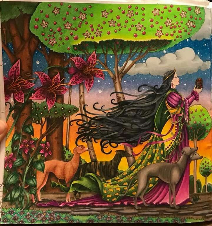 Pin by Robin Christensen on colouring book Enchanted