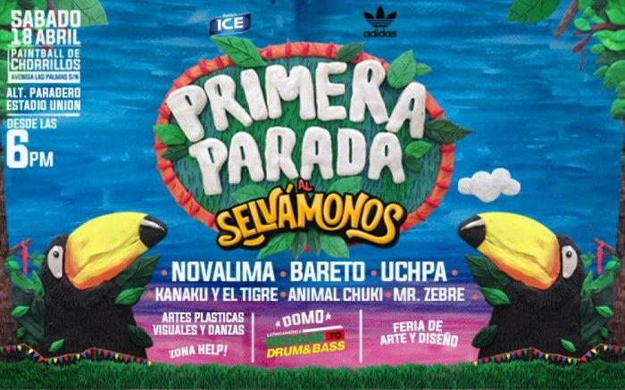 Este 18 de abril regresa la Primera Parada al Festival Selvámonos! Por tercer año consecutivo, la selva llega a Lima para una noche artística inolvidable!