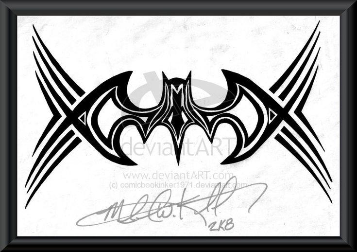 19 best batman tattoo designs images on pinterest tattoo designs tattoo ideas and batman tattoo. Black Bedroom Furniture Sets. Home Design Ideas